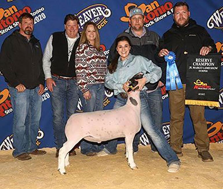 Champion Lightweight 2020 San Angelo Stock Show  Congratulations Sydney Thedford!