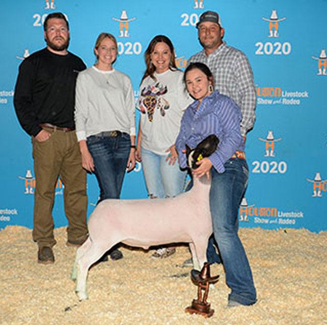 Champion Lightweight 2020 San Antonio Livestock Show Congratulations Sydney Thedford!