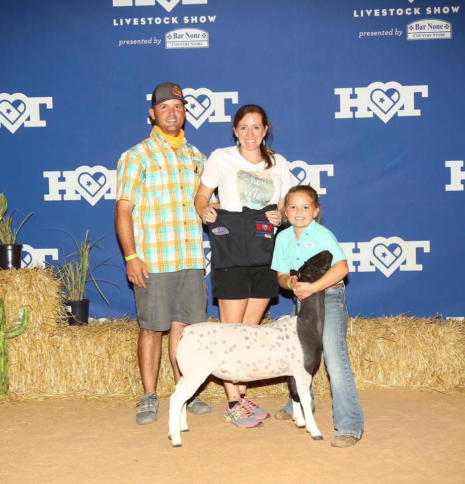 Champion Dorper 2020 Heart of Texas Congratulations Madison McCulloch