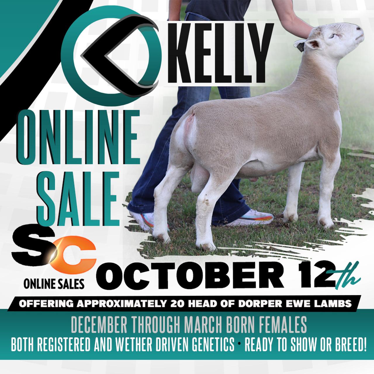 Oct. 12th Online Sale